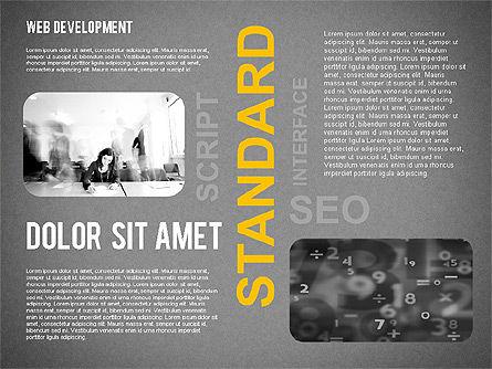 Web Development Word Cloud, Slide 16, 02393, Presentation Templates — PoweredTemplate.com