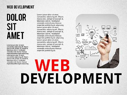 Web Development Word Cloud, Slide 3, 02393, Presentation Templates — PoweredTemplate.com