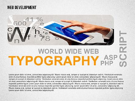 Web Development Word Cloud, Slide 5, 02393, Presentation Templates — PoweredTemplate.com