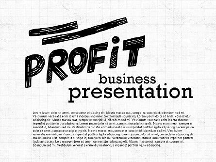 Presentation Templates: Profit Business Presentation (data driven) #02395