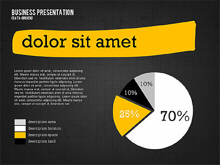 Profit Business Presentation (data driven), Slide 12, 02395, Presentation Templates — PoweredTemplate.com