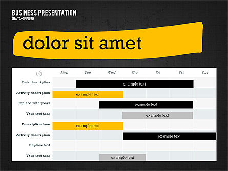 Profit Business Presentation (data driven), Slide 13, 02395, Presentation Templates — PoweredTemplate.com