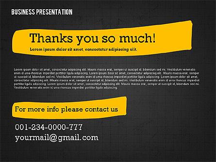 Profit Business Presentation (data driven), Slide 16, 02395, Presentation Templates — PoweredTemplate.com