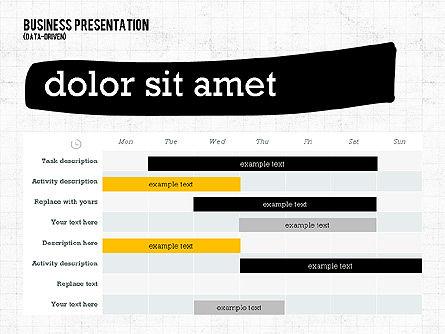 Profit Business Presentation (data driven), Slide 5, 02395, Presentation Templates — PoweredTemplate.com