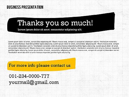 Profit Business Presentation (data driven), Slide 8, 02395, Presentation Templates — PoweredTemplate.com