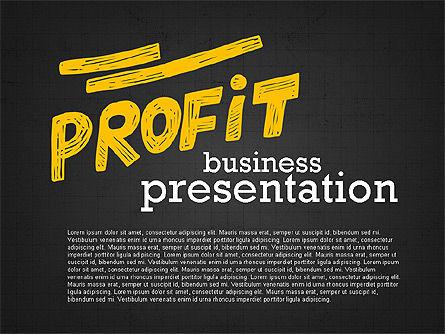 Profit Business Presentation (data driven), Slide 9, 02395, Presentation Templates — PoweredTemplate.com