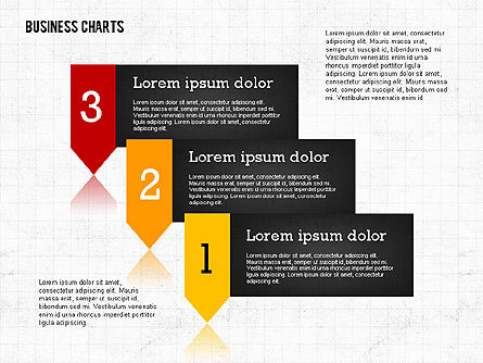 Presentation Template with Data Driven Charts, Slide 6, 02398, Presentation Templates — PoweredTemplate.com
