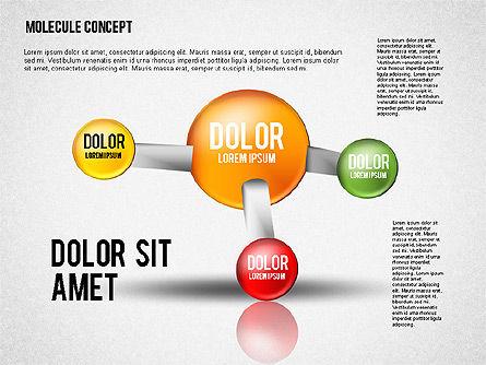 Atom Diagram, Slide 2, 02399, Business Models — PoweredTemplate.com