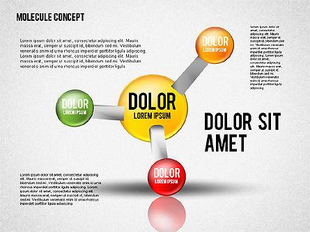 Atom Diagram, Slide 3, 02399, Business Models — PoweredTemplate.com