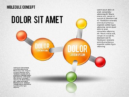 Atom Diagram, Slide 4, 02399, Business Models — PoweredTemplate.com