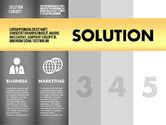 Solution Concept Options Presentation Template#13