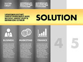 Solution Concept Options Presentation Template#14