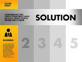Solution Concept Options Presentation Template#4