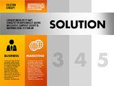 Solution Concept Options Presentation Template#5