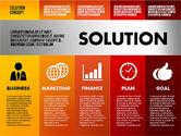 Solution Concept Options Presentation Template#8