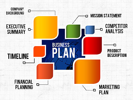 Business Plan Creative Presentation Template, 02401, Presentation Templates — PoweredTemplate.com