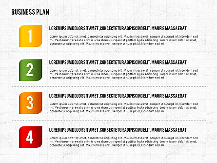 Business Plan Creative Presentation Template, Slide 3, 02401, Presentation Templates — PoweredTemplate.com