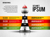 Infographics: Infographics with Lighthouse #02402