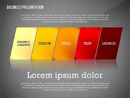 Data Driven Modern Business Presentation, Slide 10, 02407, Presentation Templates — PoweredTemplate.com
