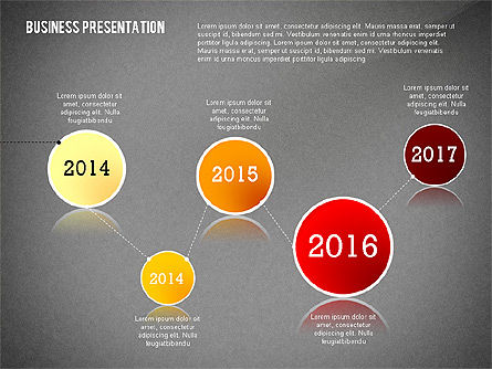 Data Driven Modern Business Presentation, Slide 11, 02407, Presentation Templates — PoweredTemplate.com