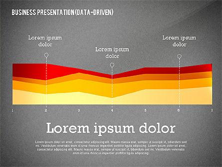 Data Driven Modern Business Presentation, Slide 12, 02407, Presentation Templates — PoweredTemplate.com