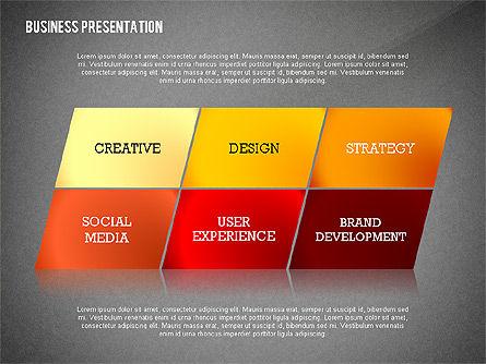 Data Driven Modern Business Presentation, Slide 13, 02407, Presentation Templates — PoweredTemplate.com