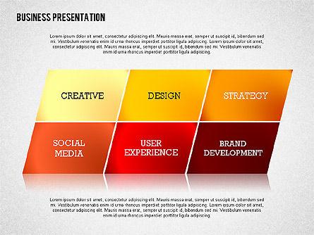Data Driven Modern Business Presentation, Slide 5, 02407, Presentation Templates — PoweredTemplate.com