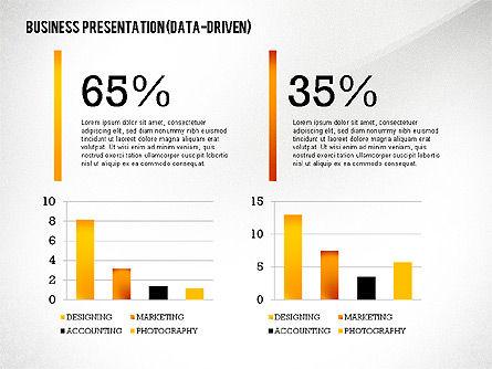 Data Driven Modern Business Presentation, Slide 7, 02407, Presentation Templates — PoweredTemplate.com