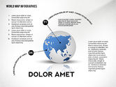 World Map and Globe Infographics#8