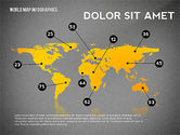 World Map and Globe Infographics#9
