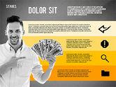 Financial Success Stages Concept Diagram#16