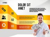 Financial Success Stages Concept Diagram#3