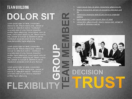 Team Building Word Cloud, Slide 10, 02413, Presentation Templates — PoweredTemplate.com