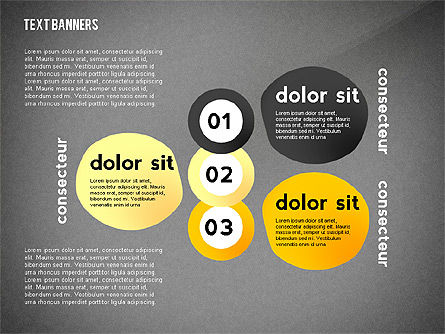 Text Banners Toolbox, Slide 11, 02414, Text Boxes — PoweredTemplate.com