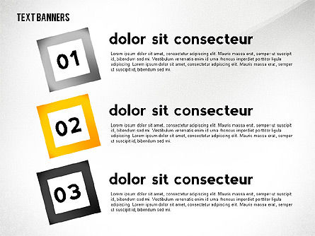 Text Banners Toolbox, Slide 8, 02414, Text Boxes — PoweredTemplate.com