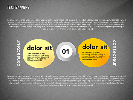 Text Banners Toolbox, Slide 9, 02414, Text Boxes — PoweredTemplate.com