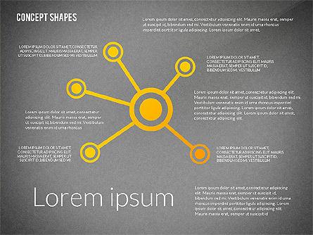 Concept Shapes, Slide 10, 02415, Shapes — PoweredTemplate.com