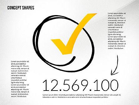 Concept Shapes, Slide 7, 02415, Shapes — PoweredTemplate.com
