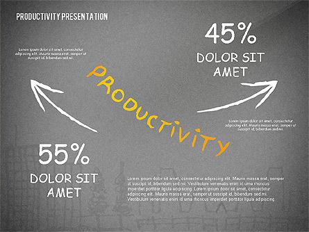 Productivity Presentation Template, Slide 14, 02417, Presentation Templates — PoweredTemplate.com