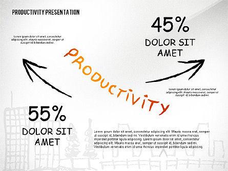 Productivity Presentation Template, Slide 6, 02417, Presentation Templates — PoweredTemplate.com