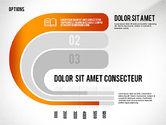 Stage Diagrams: Curved opções de opções de fita #02418