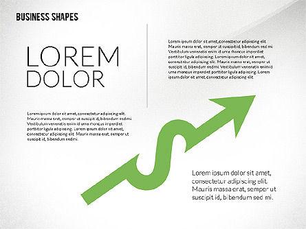 Flat Designed Colored Shapes, Slide 7, 02419, Shapes — PoweredTemplate.com