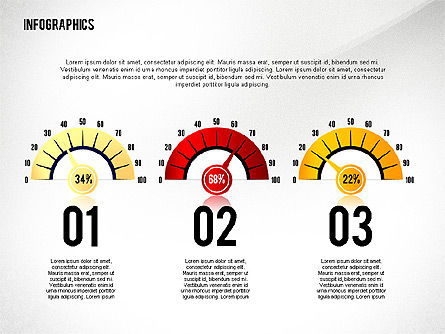 Infographics with Icons Toolbox, Slide 3, 02420, Infographics — PoweredTemplate.com