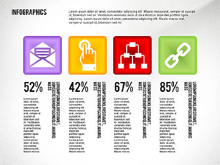 Infographics with Icons Toolbox, Slide 4, 02420, Infographics — PoweredTemplate.com