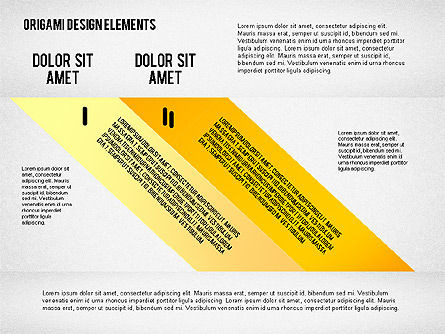 Weave Ribbons, Slide 2, 02422, Stage Diagrams — PoweredTemplate.com