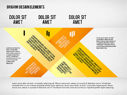 Weave Ribbons, Slide 3, 02422, Stage Diagrams — PoweredTemplate.com