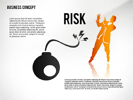 Business Concept with Silhouettes, Slide 7, 02424, Silhouettes — PoweredTemplate.com