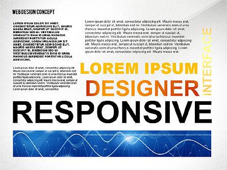 Web Design World Cloud, Slide 3, 02425, Business Models — PoweredTemplate.com