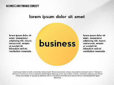 Business and Finance Concept, 02428, Business Models — PoweredTemplate.com