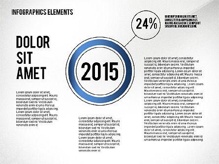 Years Infographics, Slide 3, 02436, Infographics — PoweredTemplate.com